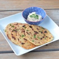 Whole-Wheat Naan Bread on 100 Days of Real Food