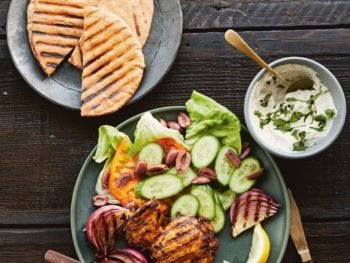 Shawarma-Spiced Grilled Chicken