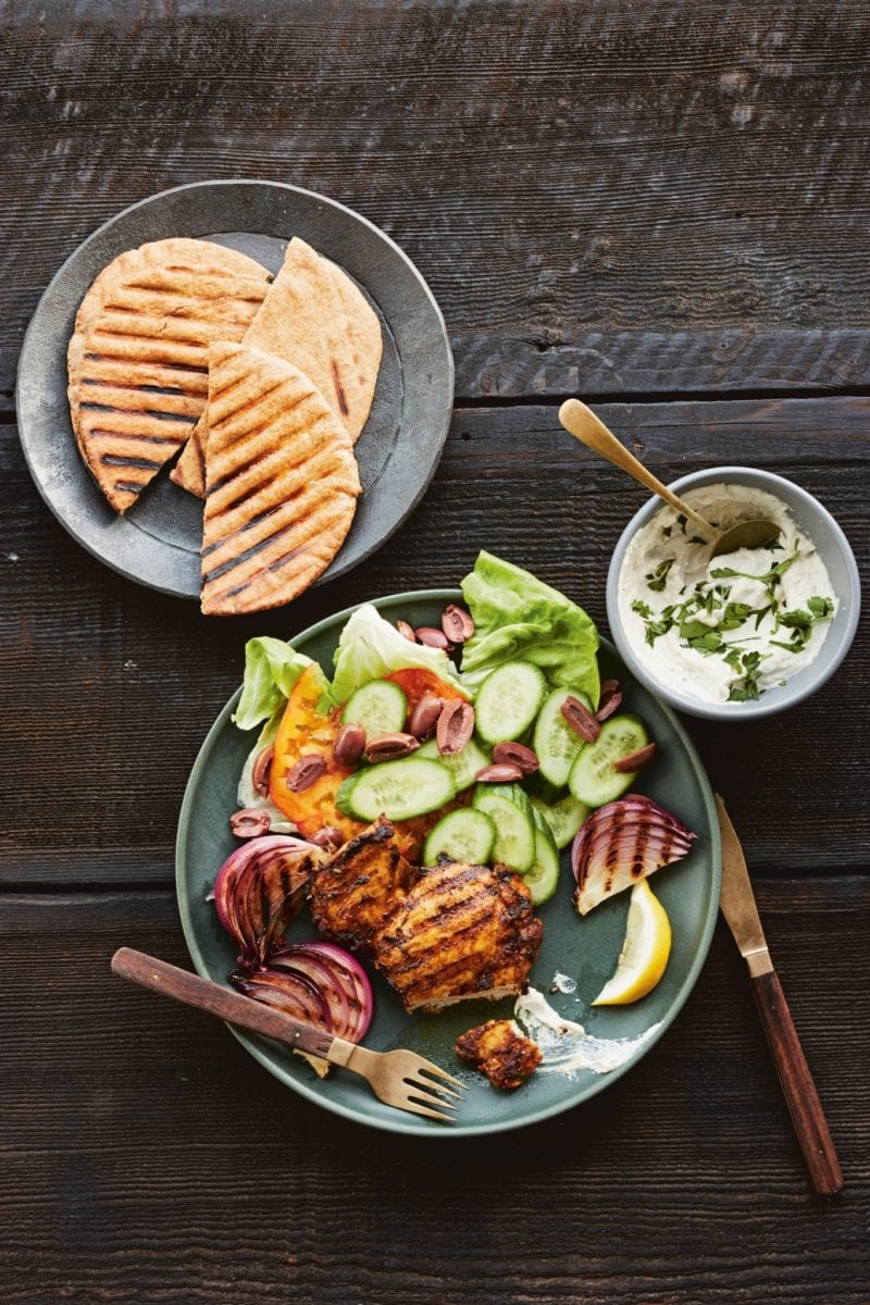 Shawarma-Spiced Grilled Chicken from Skinnytaste One & Done