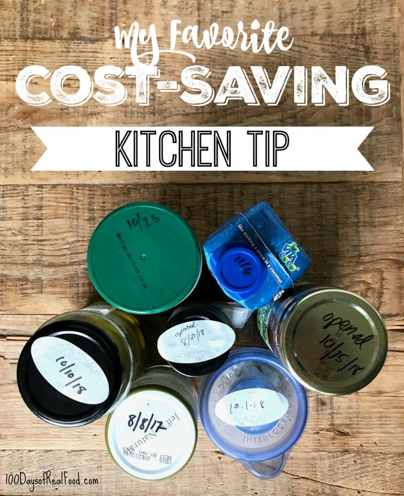 My Favorite Cost-Saving Kitchen Tip