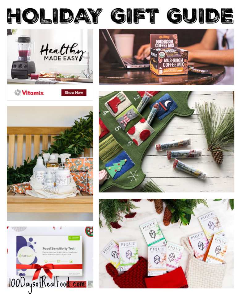 100 Days of Real Food Holiday Gift Guide 2018