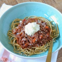 Slow Cooker Beef Ragu from 100 Days of Real Food