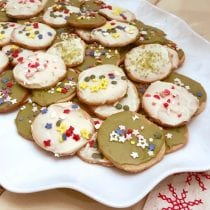 Icebox Sugar Cookies on 100 Days of Real Food