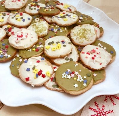 Icebox Sugar Cookies on 100 Days of Real Food