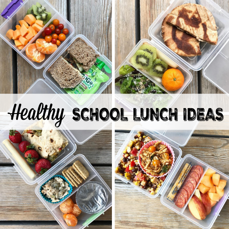 healthy school lunches on 100 Days of Real Food