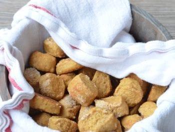 Shortcut Soft Pretzel Bites on 100 Days of Real Food