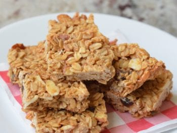 Homemade Snack Bars on 100 Days of Real Food