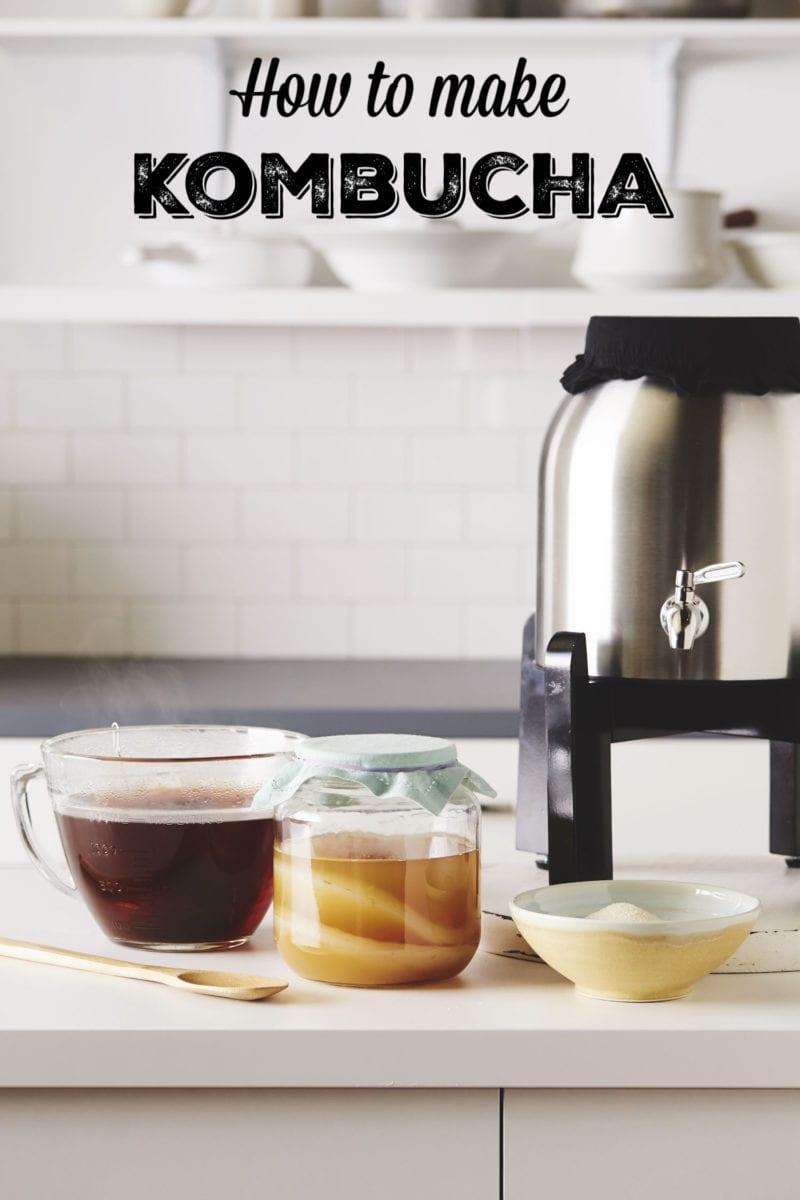 How to make kombucha