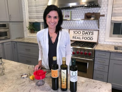 Fresh Pressed Olive Oil with 100 Days of Real Food