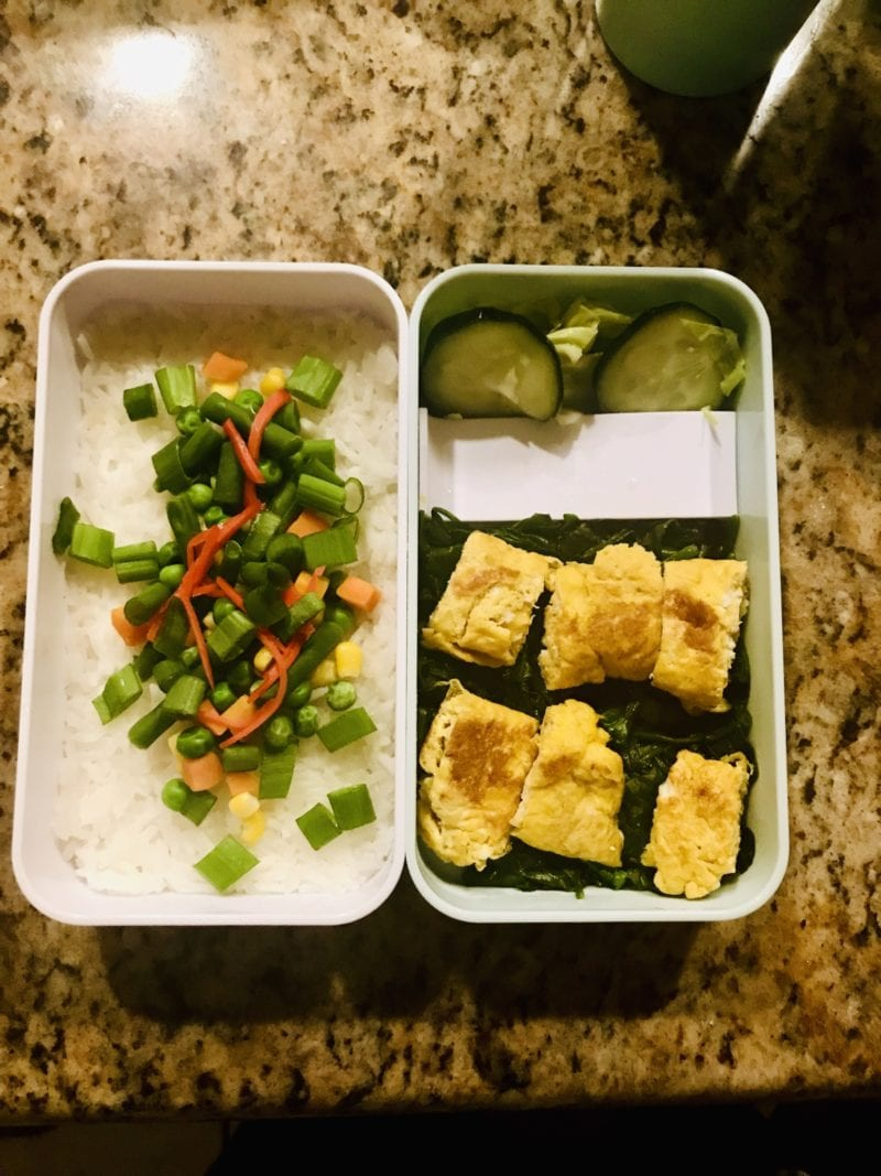homemade bento box