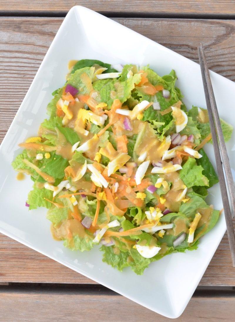 Best miso ginger salad dressing recipe