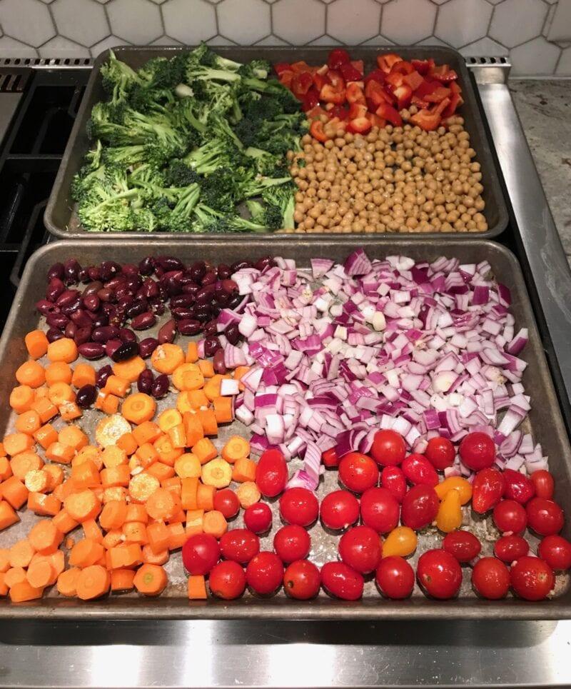Roasted Veggies on 100 Days of Real Food