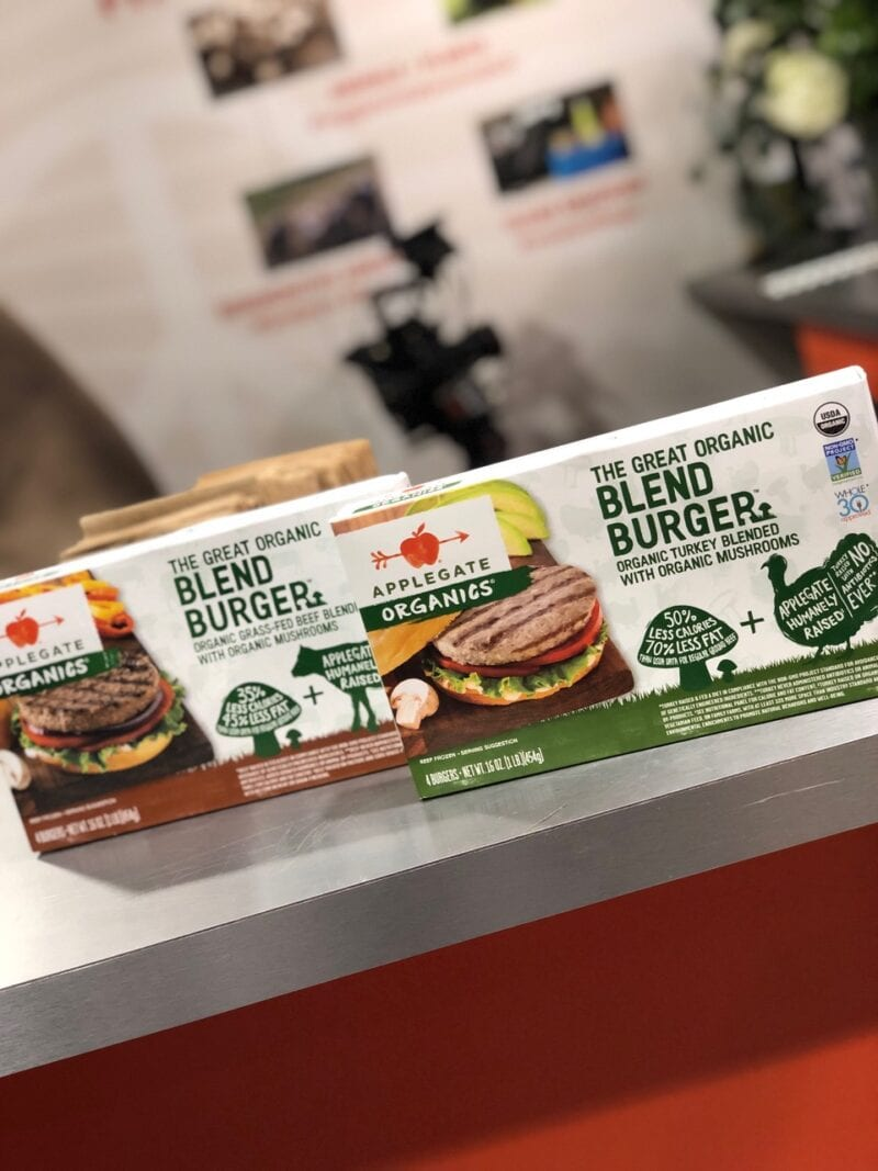 Applegate Organics Burger products