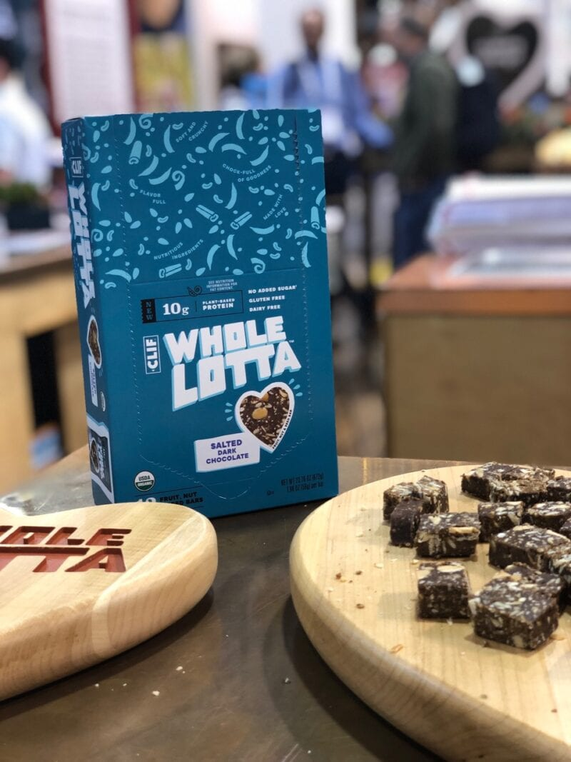 Clif Whole Lotta Salted Dark Chocolate Snacks