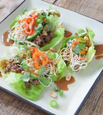 Vietnamese Lettuce Wraps on 100 Days of Real Food