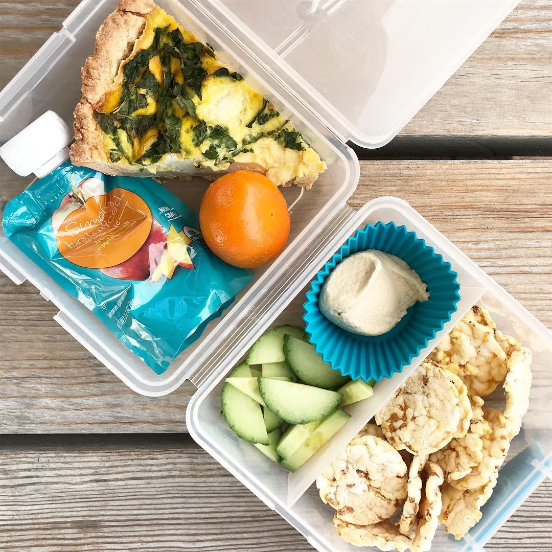 school lunch quiche