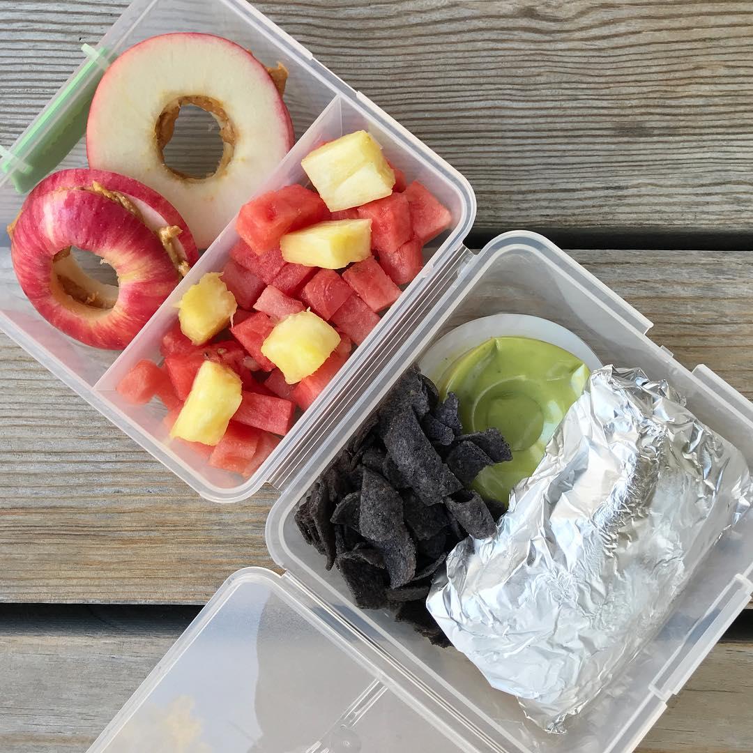 school lunch ideas breakfast burrito