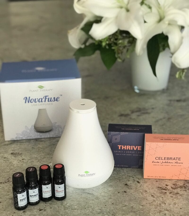 Plant Therapy diffuser with essential oils