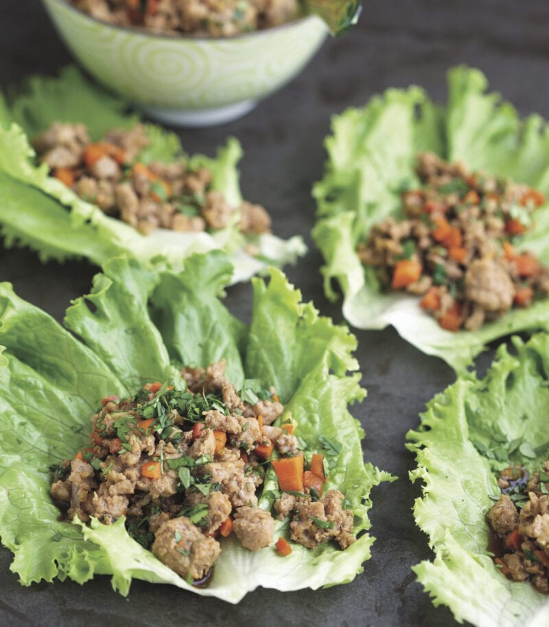 Asian lettuce wraps from 100 Days of Real Food