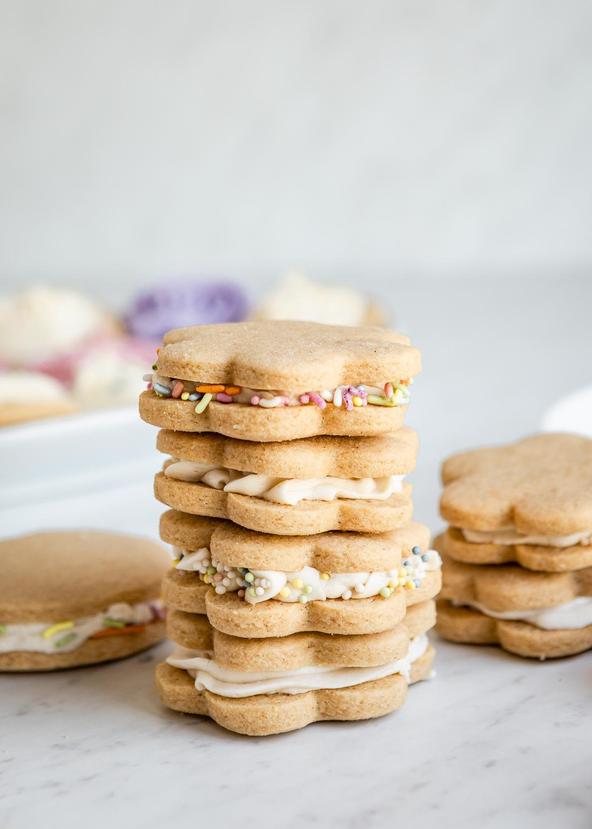 sugar cookie sandwiches