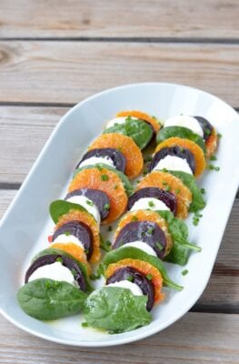 Layered Beet and Orange Salad on 100 Days of Real Food