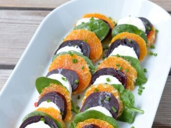 Layered Beet and Orange Salad on 100 Days of Real Food