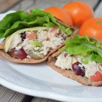 Loaded Chicken Salad on 100 Days of Real Food