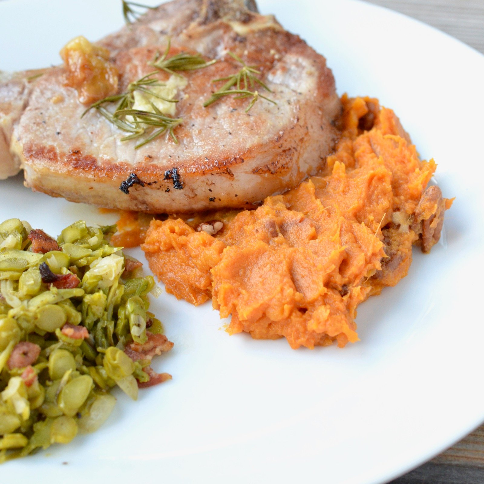 Sweet Potato Mash Recipe on 100 Days of Real Food