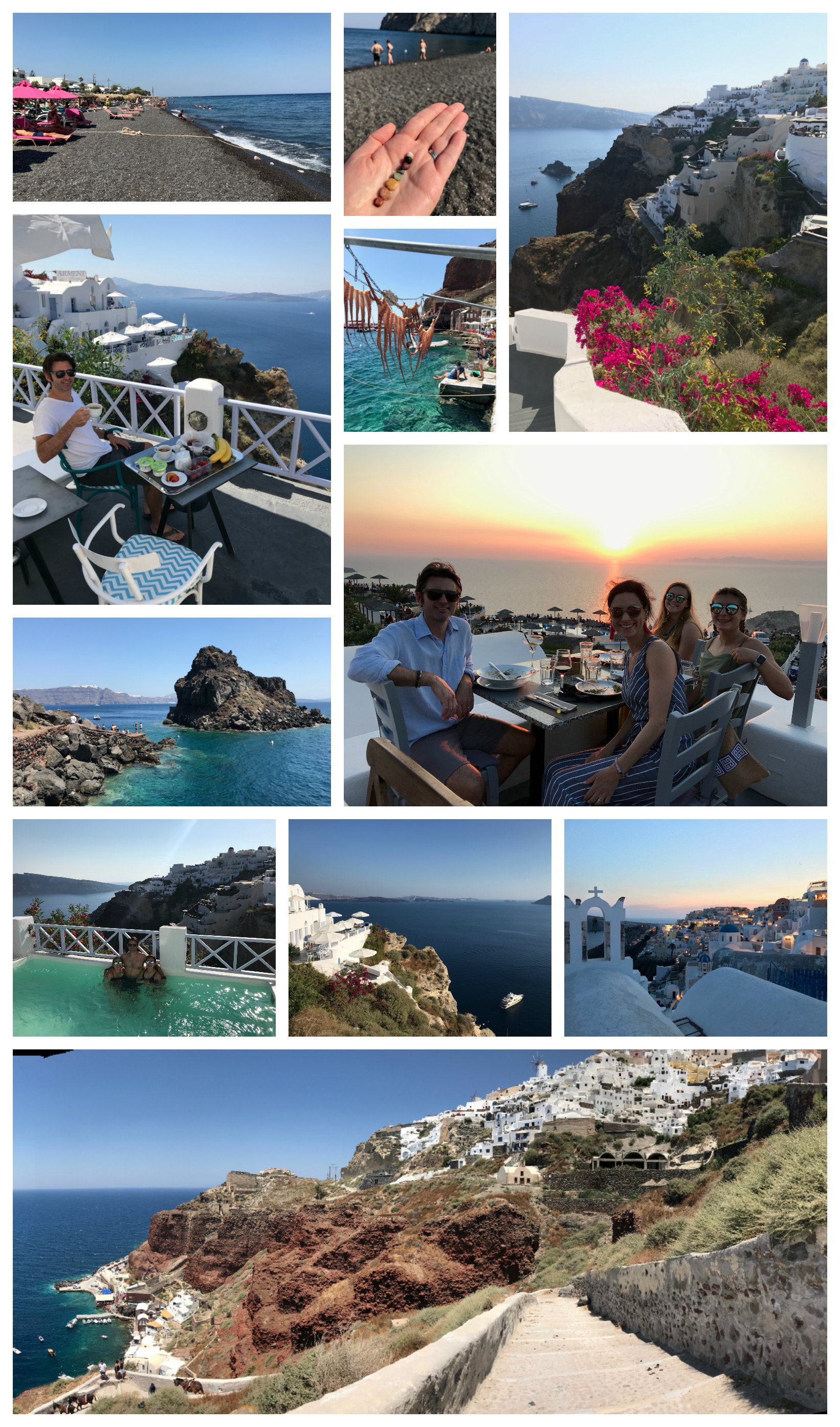 Santorini Greece Pictures on 100 Days of Real Food