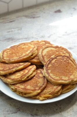 Whole-Wheat Buttermilk Pancakes on 100 Days of Real Food