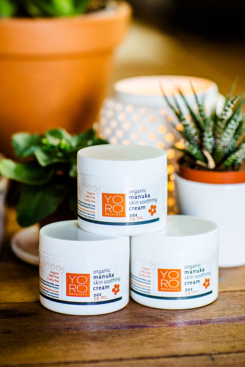 Organic Manuka Skin Soothing Cream