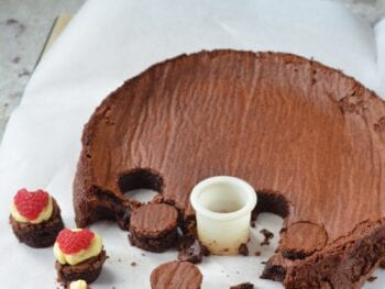Flourless Chocolate Cake on 100 Days of Real Food
