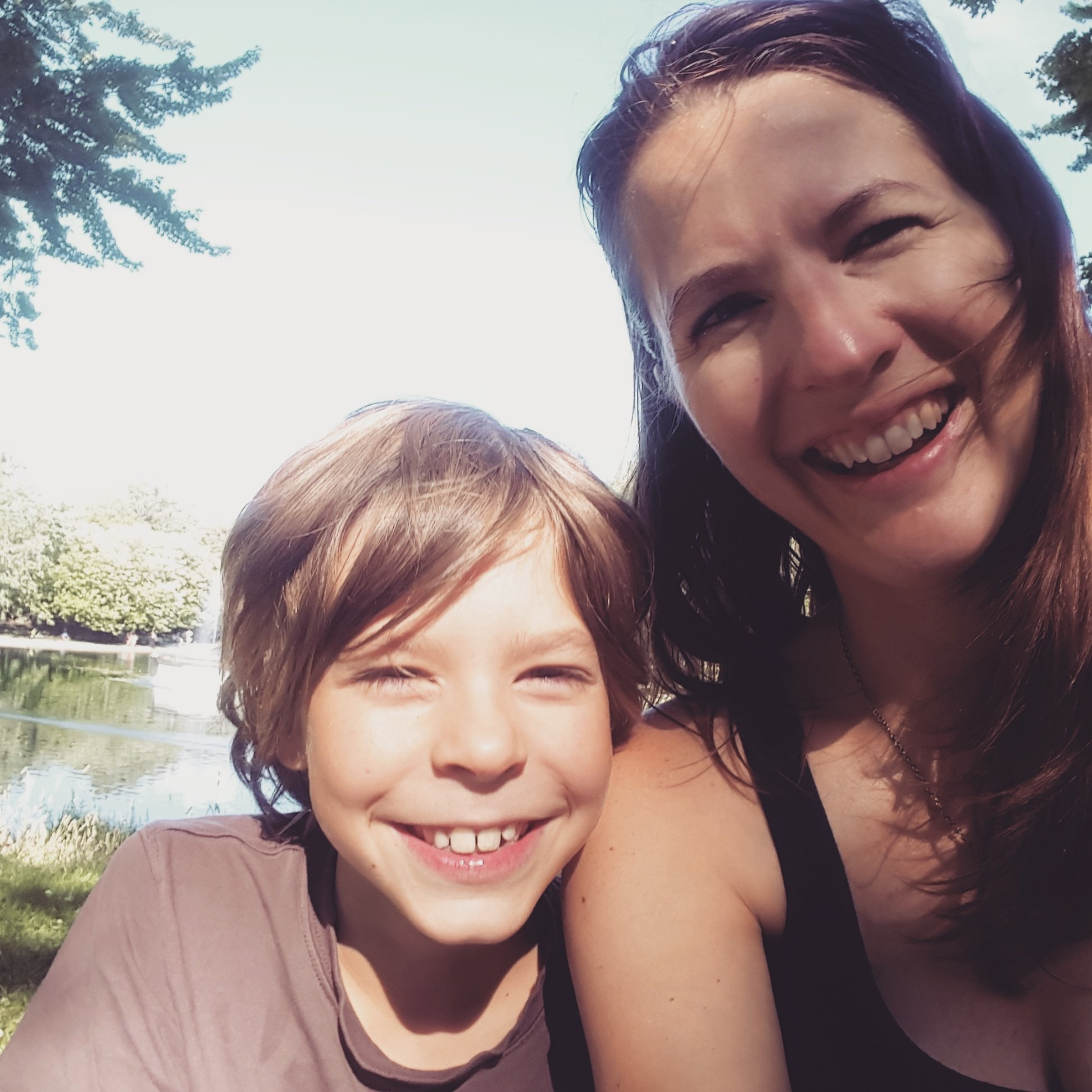 Jennifer and her son from The Eczema Company