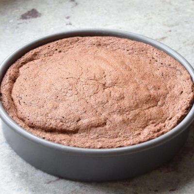 6-ingredient flourless chocolate cake from 100 Days of Real Food