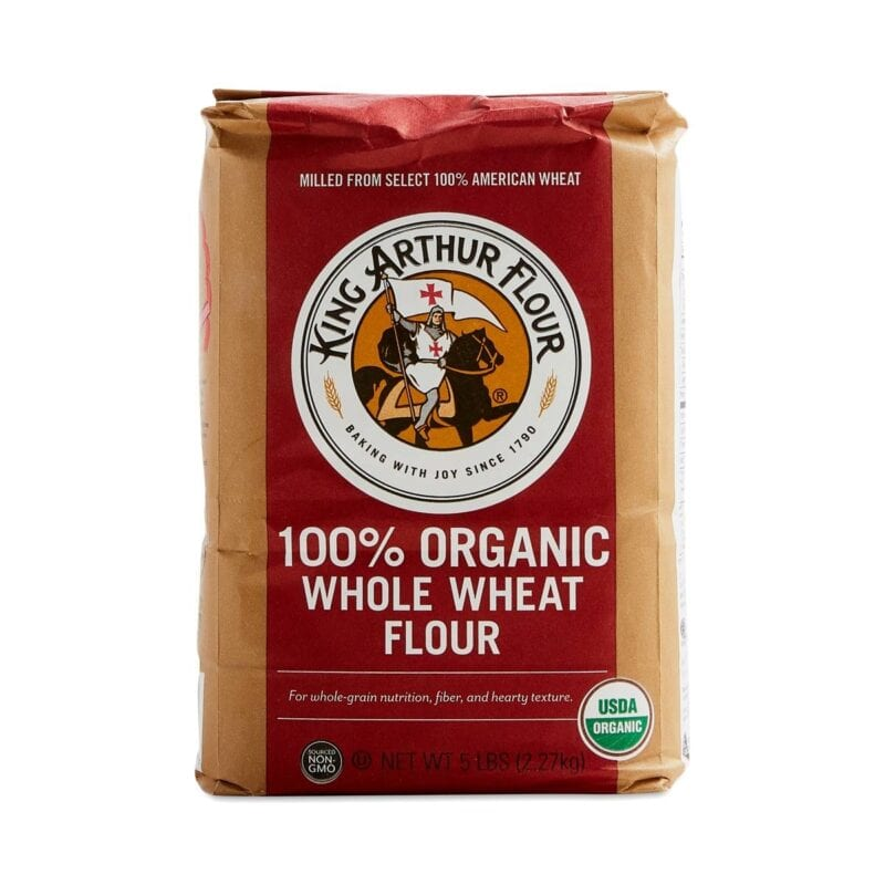 King Arthurs whole-wheat flour on 100 Days of Real Food