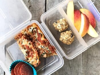 School Lunch Lasagna on 100 Days of Real Food