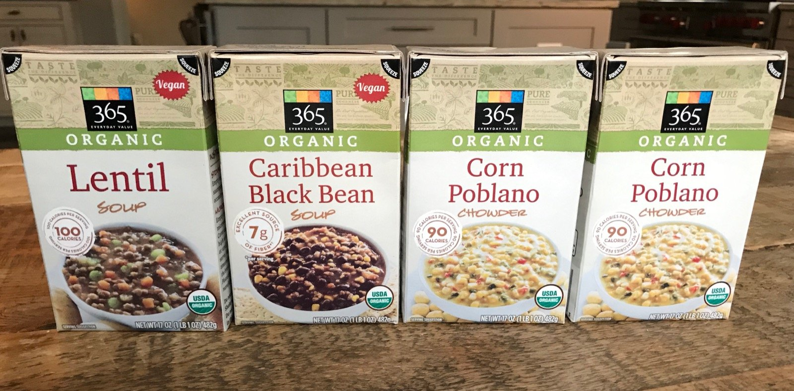 organic boxed soups