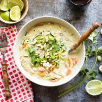 Coconut Curry Soup from Simple Green Smoothies