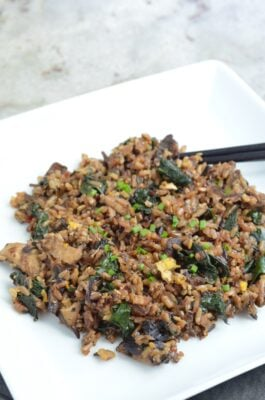 Wild Fried Rice on 100 Days of Real Food