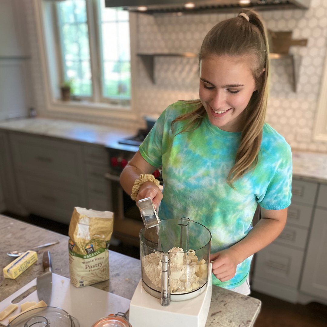 Kids can cook dinner on 100 Days of Real Food