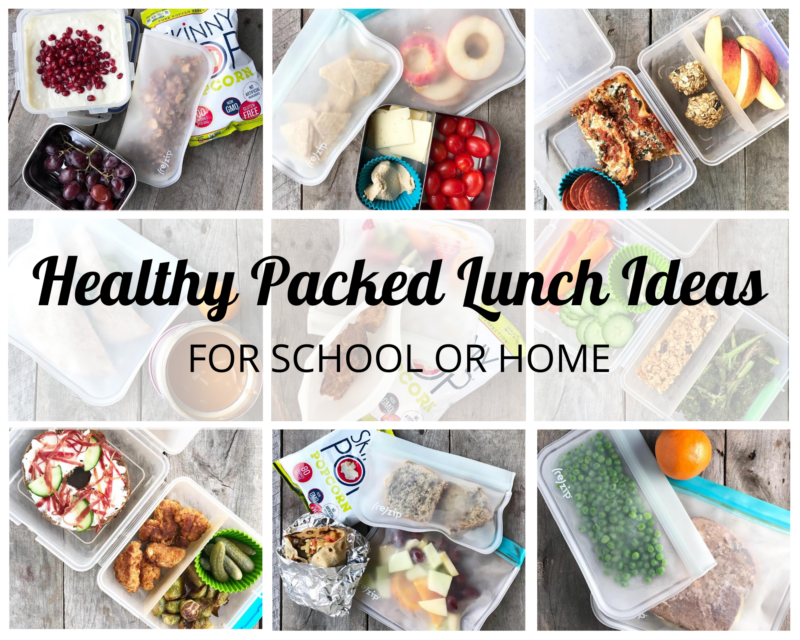 Healthy School Lunches for School or Lunch on 100 Days of Real Food