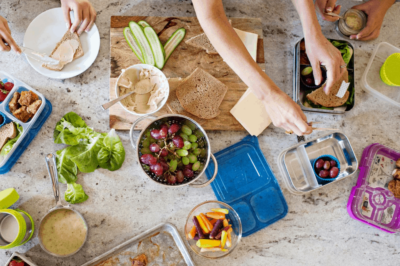 Real Lunches, Real Easy Meal Plans on 100 Days of Real Food