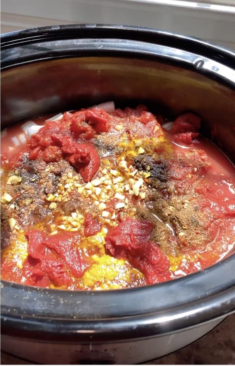 Slow Cooker Chicken Tikki Masala on 100 Days of Real Food