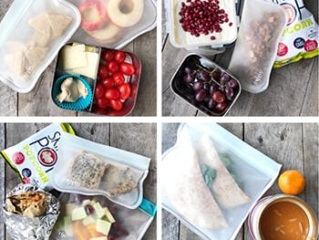 school lunch round up on 100 days of real food