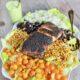 Blackened Fish Salad on 100 Days of Real Food