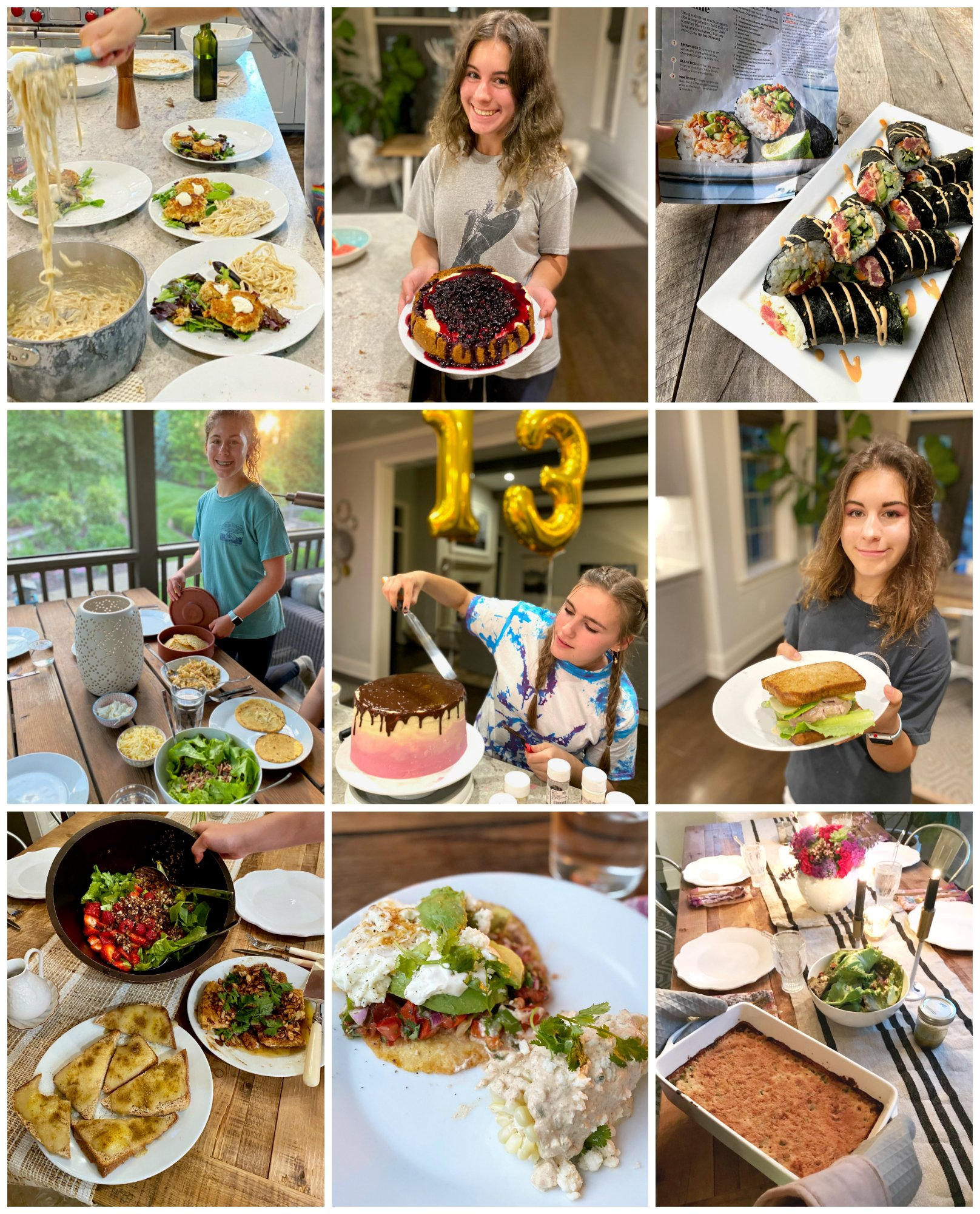 Dinners My Teens Cooked on 100 Days of Real Food