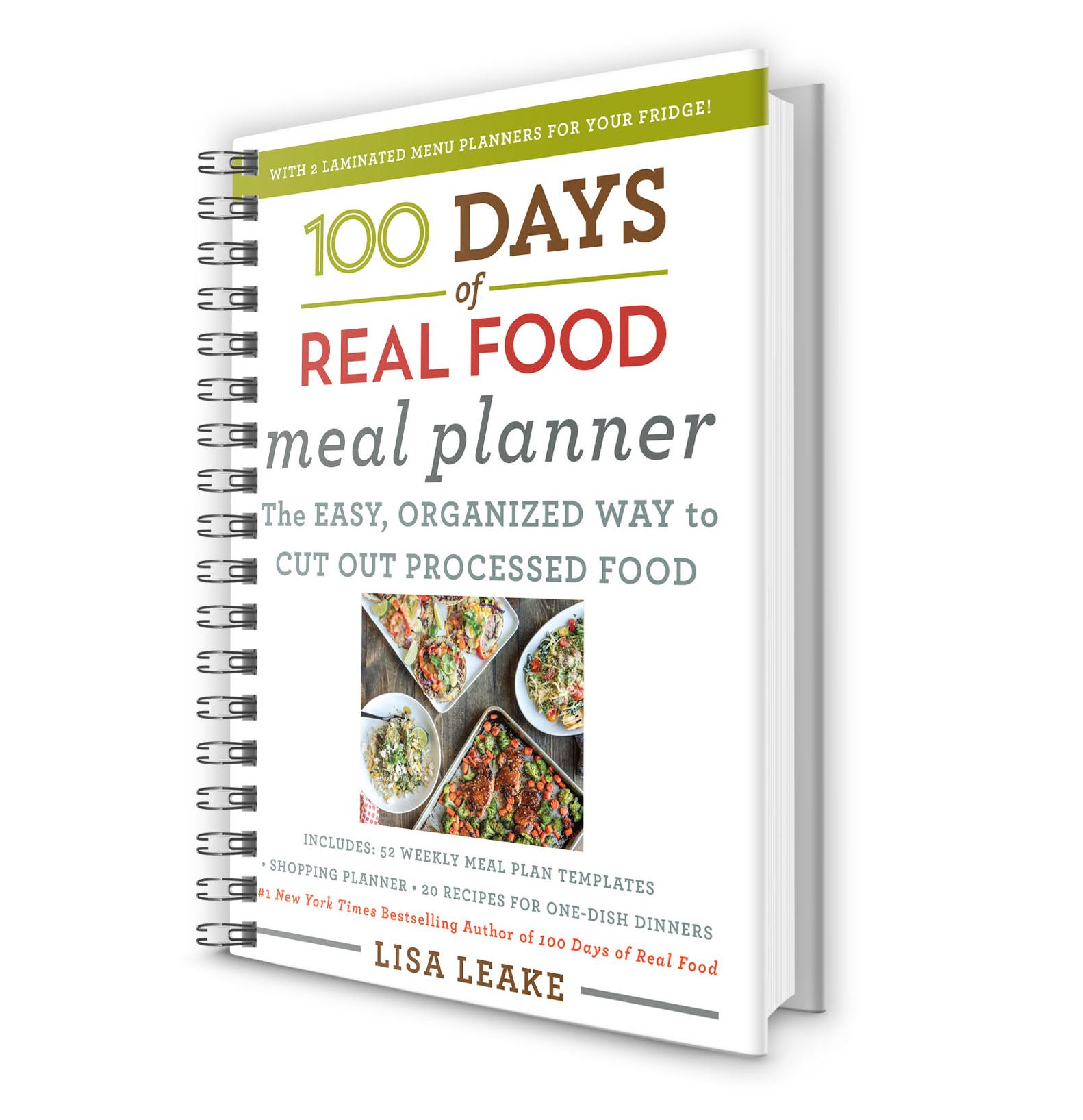 meal planner workbook