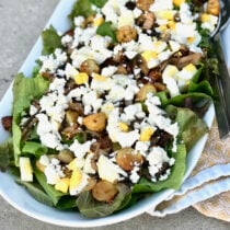 Warm Bistro Salad with Feta Feature
