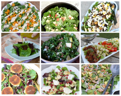 Fall Salad Roundup on 100 Days of Real Food