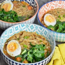 Super Quick Ramen Bowls on 100 Days of Real Food